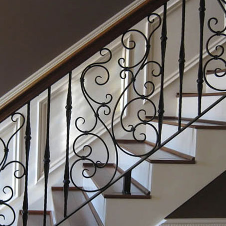 house iron railings interior bolton railing projects