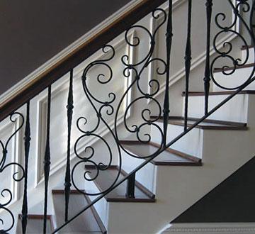 custom iron railings toronto
